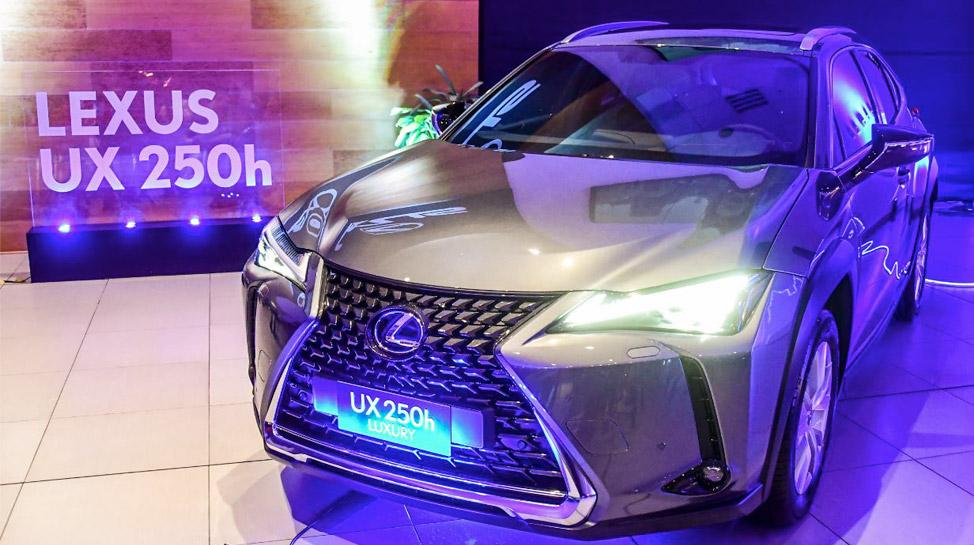 Lexus UX: la elegante gama elaborada con costuras japonesas