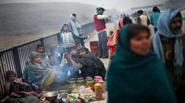 India: Ola de frío en el norte deja al menos 110 muertos