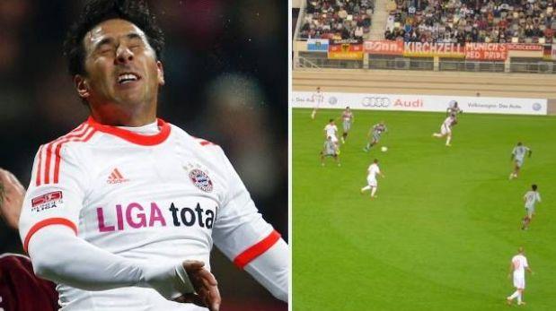 Claudio Pizarro marcó doblete para Bayern Múnich en Qatar