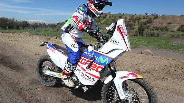 'Chaleco' López sorprendió a Despres y ganó la primera etapa en motos