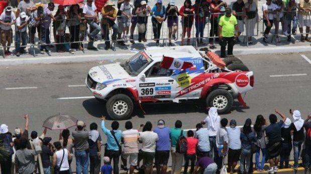 Ramón Ferreyros es el piloto mejor ubicado de los autos peruanos