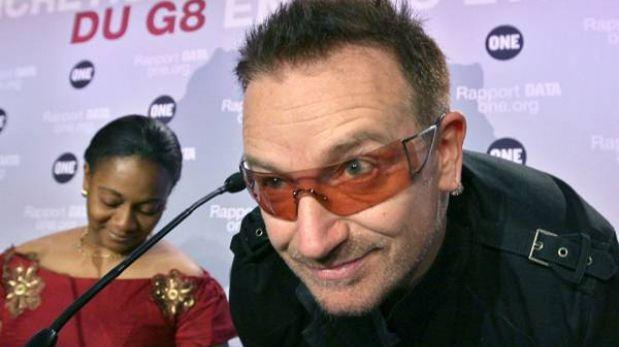 """Amigos de Bono están preocupados por el """"deterioro"""" de su visión"""