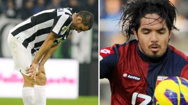 Juventus cayó 2-1 ante Sampdoria y Génova de Juan Manuel Vargas ganó