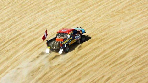 Dakar 2013: Diego Weber se hizo fuerte de local y está en el puesto 25 de coches