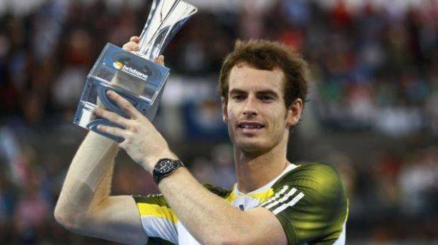 Andy Murray inició el 2013 revalidando su título en torneo de Brisbane