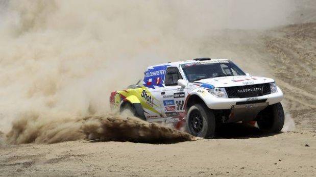 Ramón y Weber, los coches peruanos más rápidos entre Pisco y Nasca