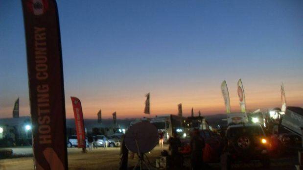 FOTOS: Así se exhibe la Marca Perú en el Dakar 2013