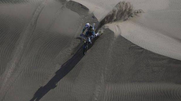 El francés Olivier Pain le quitó el primer lugar a Despres en motos