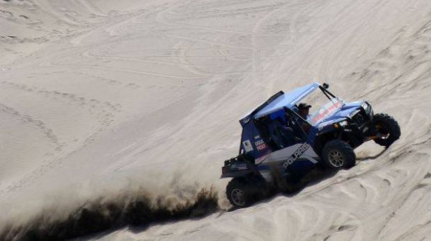Óscar Rocha, el peruano que no se rinde en el Dakar