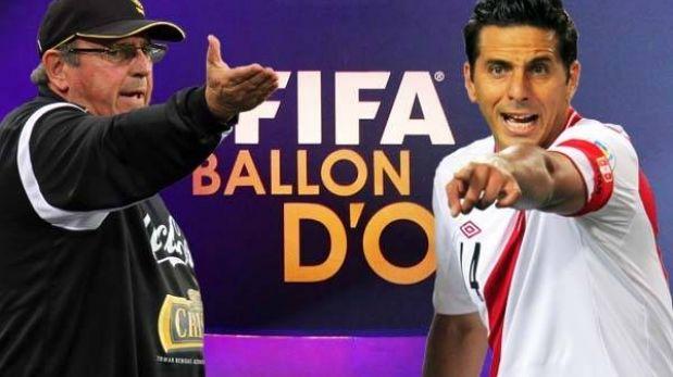 Balón de Oro: ¿Por qué no figuran los votos de Markarián y Claudio Pizarro?