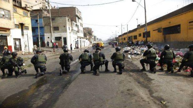 Lima encarga a la Policía definir cuándo se recuperará La Parada