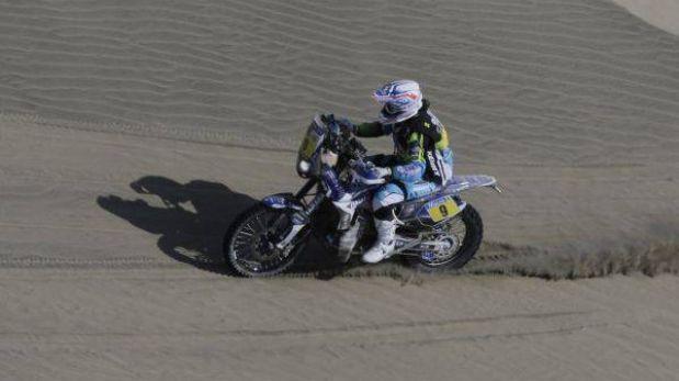 David Casteu ganó la quinta etapa en motos y Despres se alejó de la punta