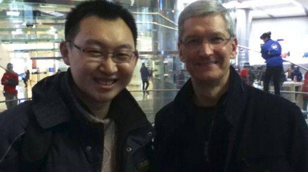 El jefe de Apple visita China por segunda vez en menos de un año