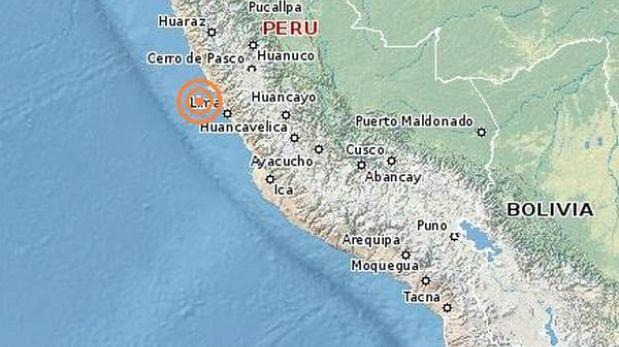 Temblor de 4,2 grados Richter se dejó sentir en Lima
