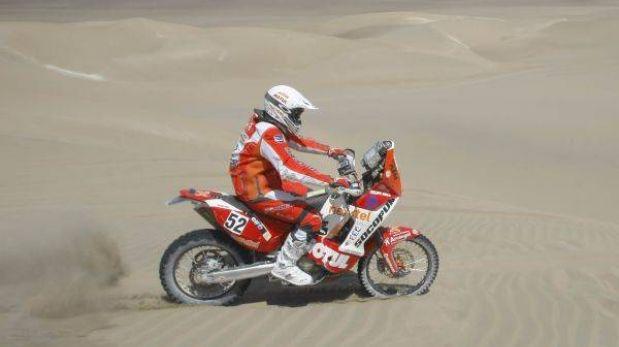 Felipe Ríos no pierde ritmo y mantiene una buena ubicación en motos
