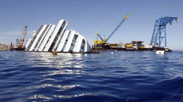 Retirar restos del Costa Concordia costará 400 millones de dólares