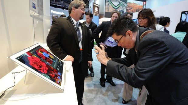 FOTOS: Las tabletas más grandes y llamativas que se presentaron en el CES 2013