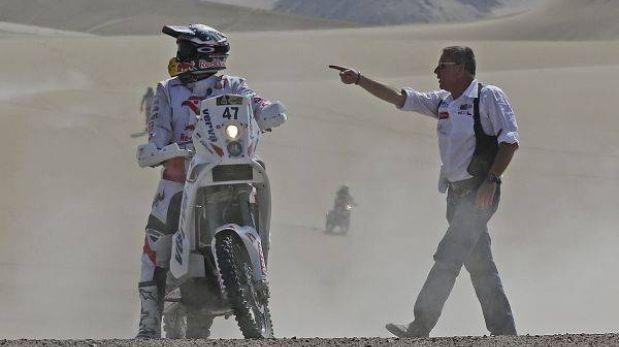 """Etienne Lavigne sobre el Dakar en el Perú: """"Hubo etapas de leyenda"""""""