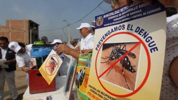 Cinco distritos del sur de Lima están en alerta por el dengue