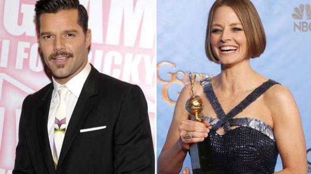 Ricky Martin felicita discurso de Jodie Foster en los Globo de Oro