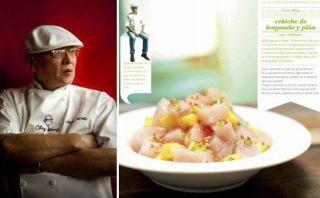 Descubre cómo prepara Javier Wong su cebiche de lenguado y piña