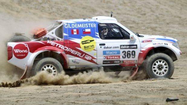 Ramón Ferreyros podría abandonar el Dakar 2013