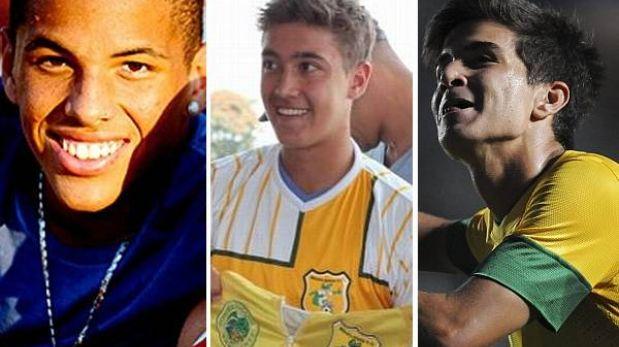 'Rivaldinho', 'Romarinho' y Mattheus: los hijos de Rivaldo, Romario y Bebeto levantan vuelo