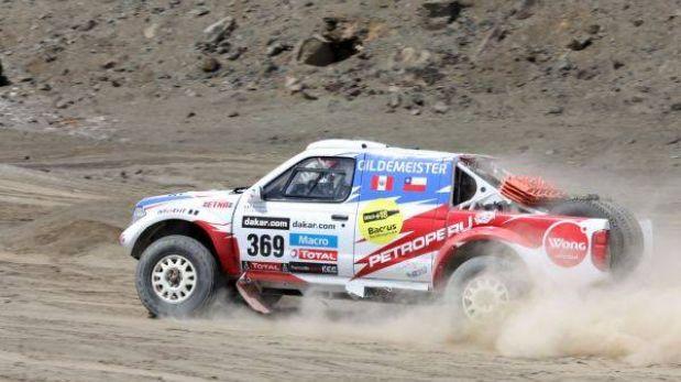 Confirmado: Ramón Ferreyros abandonó el Dakar 2013