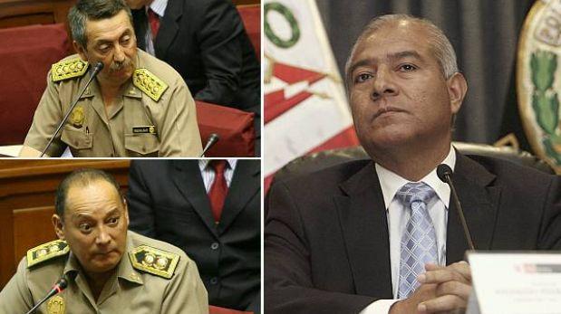 """Wilfredo Pedraza: Salazar y Gamarra """"permanecerán en el cargo hasta que yo lo decida"""""""