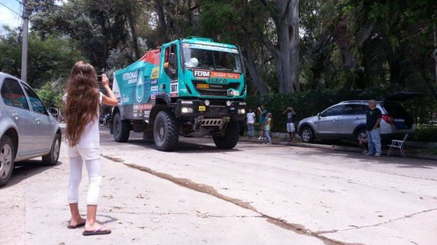 FOTOS: Así recibe Córdoba el paso del Dakar por su territorio