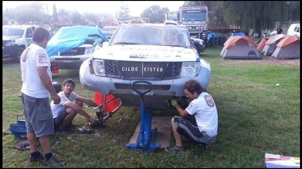 FOTOS: así terminó la camioneta de Ramón Ferreyros