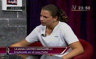 """Liliana Castro Mannarelli: """"Tengo miedo de volver a prisión"""""""
