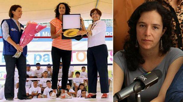 """Marisa Glave defendió condecoraciones municipales: """"No se utiliza a nadie"""""""