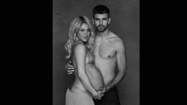 Shakira y Piqué se fotografiaron semidesnudos para campaña de Unicef
