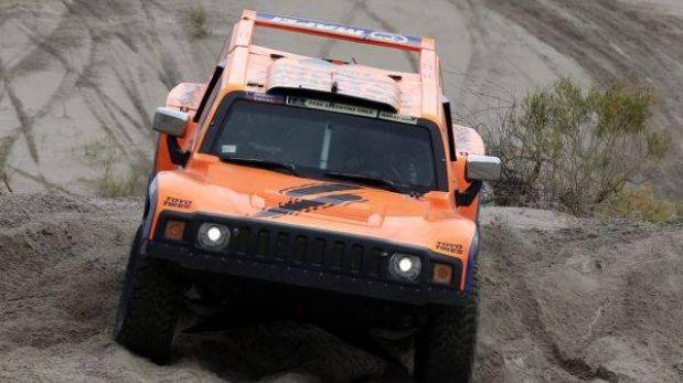 Robby Gordon ganó su primera etapa en el Dakar 2013
