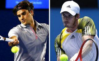 Abierto de Australia: Roger Federer y Andy Murray avanzan rumbo al título