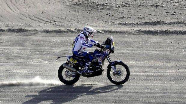 El holandés Frans Verhoeven ganó la etapa 12 y Despres se mantiene arriba en motos