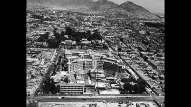 Lima cumple 478 años: mira postales desde el aire de 1960 y 1980