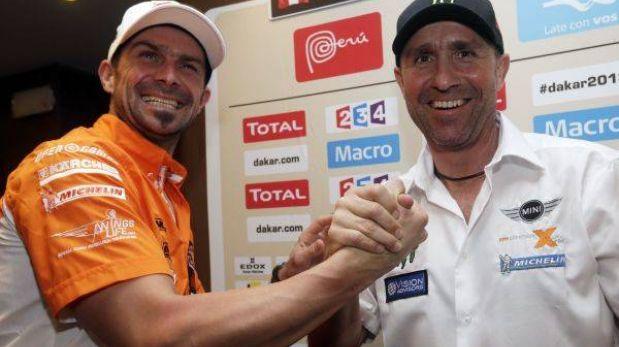 Dakar 2013: Despres y Peterhansel están a dos días de seguir haciendo historia