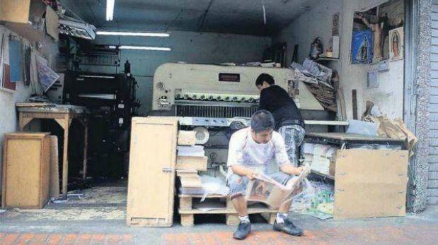 Empresarios gráficos del Centro de Lima no aceptan propuesta de traslado