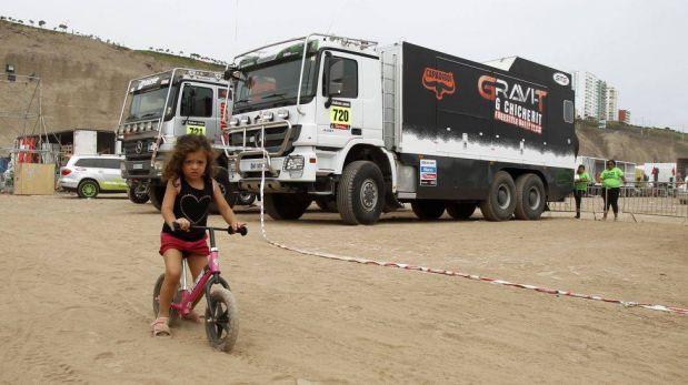 FOTOS: las imágenes más curiosas que nos ha dejado hasta ahora el Dakar 2013