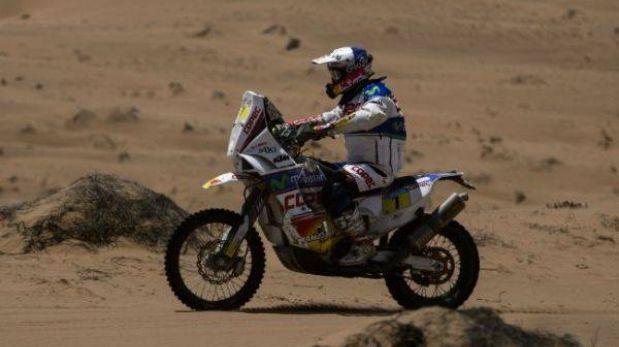 'Chaleco' López ganó la etapa 13 y sueña con robarle el trono a Despres en motos