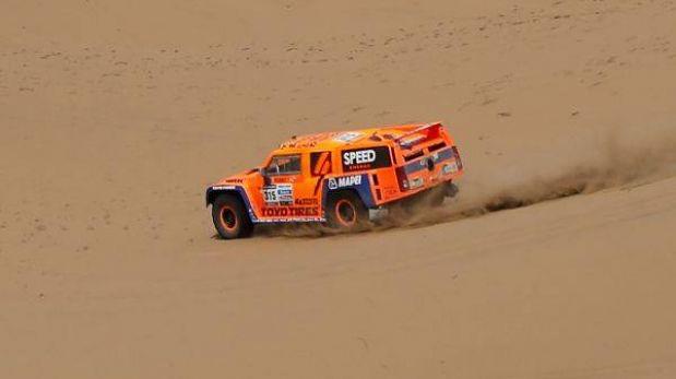 Robby Gordon ganó su segunda etapa del Dakar y Peterhansel es casi campeón en autos