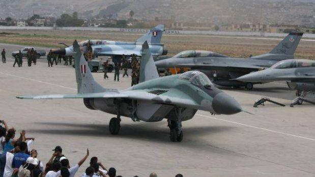 Ministerio de Defensa optó por asegurar aviones de las Fuerzas Armadas