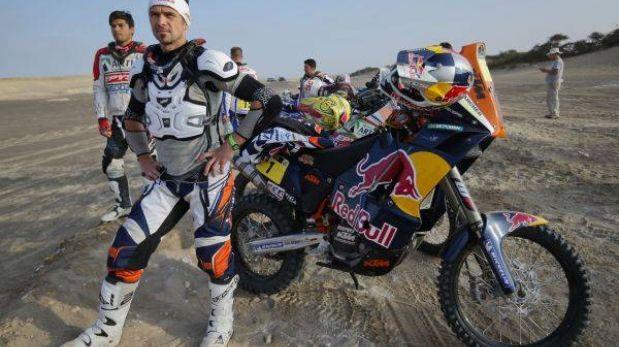 Cyril Despres se coronó campeón de motos del Dakar