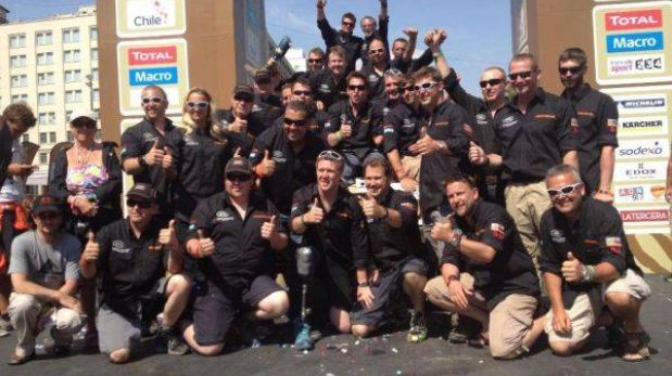 Race2Recovery, el equipo de militares discapacitados que culminó el Dakar