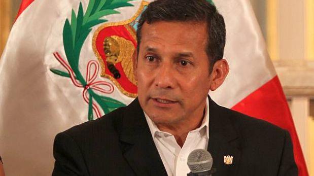 Congresistas dicen que crecimiento del país favorece a Ollanta Humala