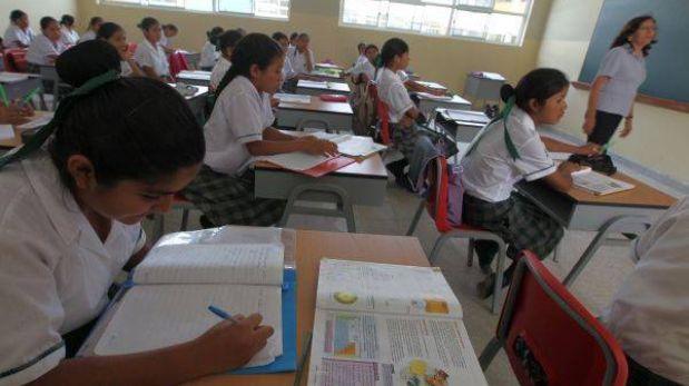 Reinicio de clases en colegios de región Lima fue aplazado una semana por gripe AH1N1