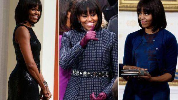 Los vestidos de Michelle Obama están nuevamente bajo la lupa