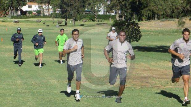 FOTOS: Universitario realizó su primer entrenamiento al pie del Misti